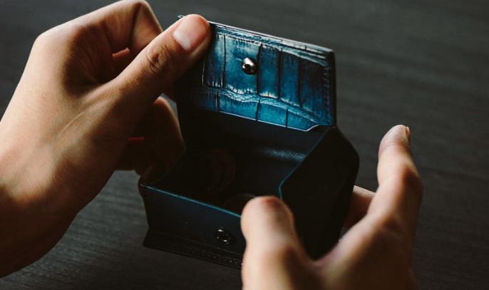 ユハク(YUHAKU),YFA152 Cobweb BOX型コインケース,小銭入れ,コインケース