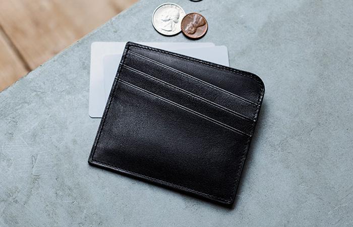土屋鞄製作所,ブラックヌメ カードホルダー,小銭入れ,コインケース